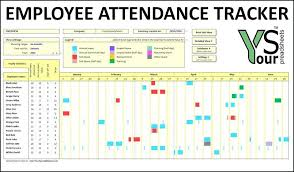 Employee Attendance Sheet In Excel For Office Free Employee Attendance Sheet Template Staff Daily Misdesign Co