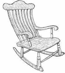 rocking chair drawing easy. here are two unusual rocking chairs. these were made by john and thomas cottam, prolific chair makers from england, that produced hundreds of drawing easy