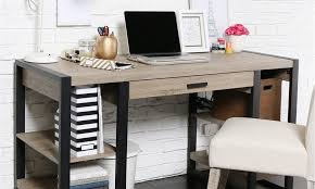 best pieces of office furniture for small spaces long computer desk table corner with shelves printer shelf workstation and chair affordable slim cubicles