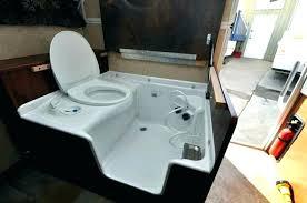 shower toilet combo unit for rv