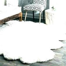sheep fur rug faux sheepskin area medium size of white how to wash grey ikea fa