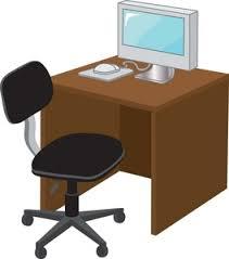 office desk clipart. Beautiful Desk On Office Desk Clipart WorldArtsMe
