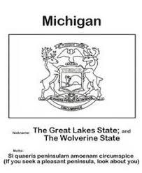 Small Picture Stunning Michigan Coloring Book Images New Printable Coloring
