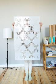 Wall Stencil Patterns Delectable Moroccan Double Wall Stencil Pattern Large Moroccan Stencil And