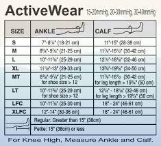 Jobst Activewear Athletic Compression Socks Knee High 15