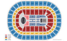 Chicago United Center Concert Seating Chart The Chainsmokers 5 Seconds Of Summer Chicago Tickets At