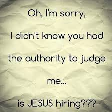 Quotes About Judging Gorgeous Quotes About Christ Judging 48 Quotes