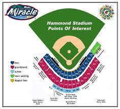 Hammond Stadium Seating Chart Fort Myers Miracle Hammond