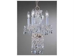 classic lighting corporation monticello chrome four light 11 wide mini chandelier c88254chc