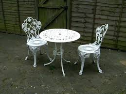 cast iron table and chairs cast iron table and chairs outdoor furniture balcony leisure aluminum white