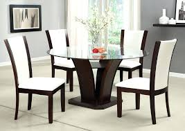round table moreno valley l round glass top dining table w 4 side of premier party round table moreno valley