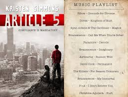 playlist for article 5 by kristen simmons