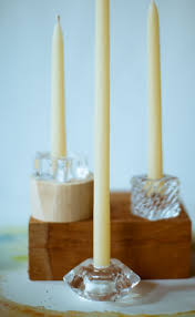 Half Tapers. Mole Hollow Candles