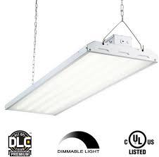 Envirolite Led Shop Light Details About Envirolite 223 Watt 4 Ft White Integrated Led Backlit High Bay Hanging Light