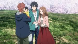 orange naho and kakeru have a child his