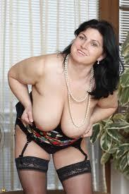 Voluptuous big boobs mature