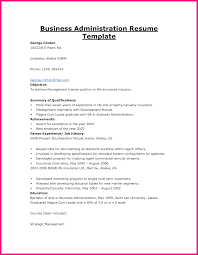 5 Sample Resume Objectives For Business Administration Ojt