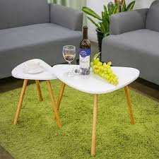 cool small coffee table in white