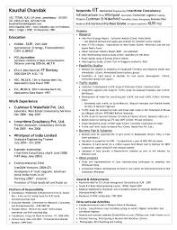Example Of An Entry Level Resume For Homeland Security Latex