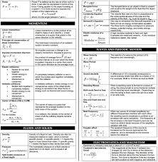 mcat physics equation sheet jennarocca