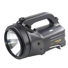 Hand Held Search Light Us 133 5 11 Off Built In Large Capacity Battery Rechargeable Searchlight Outdoor Camping Hunting 100w Hid Spotlight Handheld Xenon Search Lights In