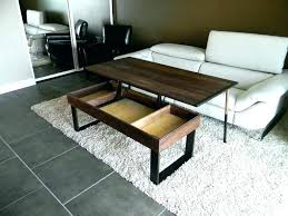 Adjustable Kitchen Table Coffee Dining Convertible To