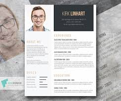 Headshot Resume Format