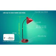 Đèn bàn học chống cận cảm ứng thông minh WIFI chính hãng Rạng Đông model  RD-RL-68.WF 2021 - Đèn bàn