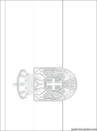 Vlag Kleurplaten Kleurplaten Vlaggen Afrika Dwacme