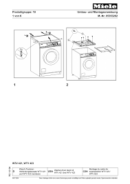 miele wtv421 user manual manualzz
