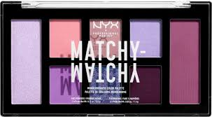 <b>Палетка</b> теней для век и пудр для лица <b>NYX Professional Makeup</b> ...