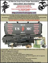 Marine Corps Scout Sniper Us Marine Corps Scout Sniper Association 2014 Raffle Soldier