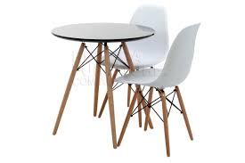 more views replica eames round wood leg table