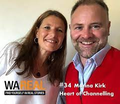 34 Marina Kirk – Heart of Channelling   WA Real Podcast