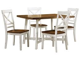 Standard Furniture Amelia Two Tone Table and Chair Set Great