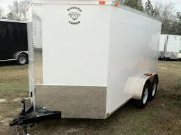 diamond cargo 8 5x24 haulstar package southern trailer depot diamond cargo 6x12 tvr enclosed cargo trailer screw less