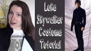 Star Wars Costume Patterns Amazing Luke Skywalker ROTJ Costume Tutorial YouTube