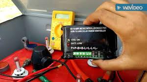 diy solar street lights solar charge controller installation