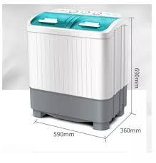 Máy giặt mini 2 lồng giặt - Máy giặt chuyên giặt đồ em bé hoặc nhà ít người  sinh viên