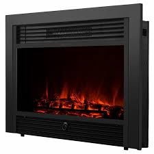 electric fireplace insert with heater luxury embedded 28 5 electric fireplace insert heater log flame with