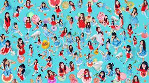 RedVelvet, women, Asian, K-pop, collage ...