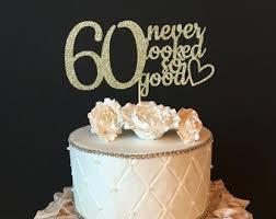 20 60th Birthday Cake Decorations Black And Gold 60th Birthday Cake