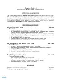 Floor Staff Resume Awesome Restaurant Manager Resume Template Unique