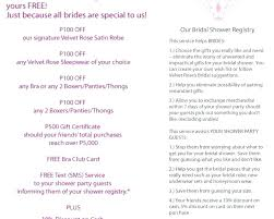 Bridal Shower Guest List Template Energycorridor Co