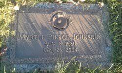 Myrtle Pierce Johnson (1920-2004) - Find A Grave Memorial