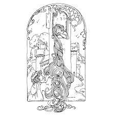 15 Kleurplaat Rapunzel Printen Krijg Duizenden Kleurenfotos Van