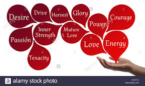 Colour Therapy Red Healing Energy Stock Photo 80477584