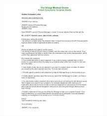 Nice Formal Complaint Letter To Landlord Template Images 003e 003e