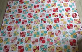 Simple Patchwork Quilt Finished - Geta's Quilting Studio & Simple Patchwork Quilt Finished Adamdwight.com