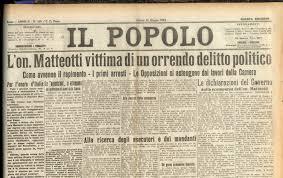 Ultimo discorso di Giacomo Matteotti al Parlamento (3 maggio 1924) – LAIC